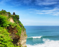 Uluwatu temple bali indonesia island Royalty Free Stock Photography
