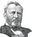 Ulysses S Grant (vector) Royalty Free Stock Photos