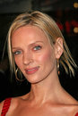 Uma thurman at the be cool world premiere grauman s chinese theatre hollywood ca Royalty Free Stock Image