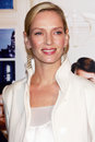 Uma thurman premiere producers ziefeld theatre new york ny Stock Photography