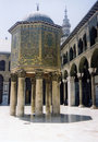 Umayyad Grand Mosque Damascus Syria Royalty Free Stock Photo