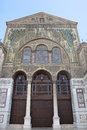 Umayyad Mosque in damascus syria Royalty Free Stock Photo