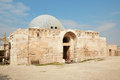 The Umayyad Palace in Amman, Jordan Royalty Free Stock Photo