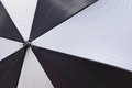 Umbrella abstract of a black and white Royalty Free Stock Image
