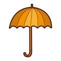 Umbrella accessory isolated icon