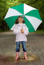Umbrella and boots Royalty Free Stock Photo