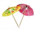 Umbrella cocktail Royalty Free Stock Photo
