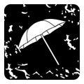 Umbrella icon, grunge style Royalty Free Stock Photo