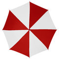 Umbrella isolated- Red-White