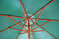 Umbrella parasol mechanism Royalty Free Stock Photo