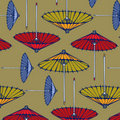Umbrella pattern background Royalty Free Stock Photography