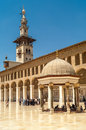 Ummayad mosque in damascus city Royalty Free Stock Photography