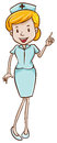 Un doctor de sexo femenino Imagen de archivo
