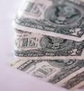 Un dollar Photos libres de droits