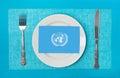 UN Food Program Royalty Free Stock Photo