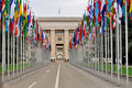 The UN, Geneva, Switzerland Royalty Free Stock Photo