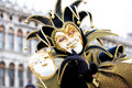 Un joker au carnaval de Venise Photo stock