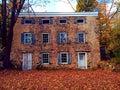 Una casa del abandono Fotografía de archivo