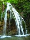 Una cascada ordinaria Fotografía de archivo libre de regalías