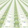 Una priorit� bassa dai 100 euro Fotografia Stock