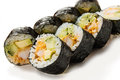 Unagi maki Royalty Free Stock Photo