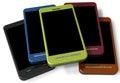Unbrand telefonu komórkowego kolekcja dla miejsca twój dodaje Zdjęcie Royalty Free