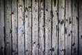 Uncared wooden fence with vignetting Royalty Free Stock Photo