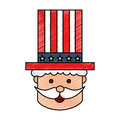 Uncle Sam character icon