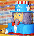 Uncle Sam Decorated Cake