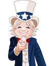 Uncle Sam Wants You! Stock Image