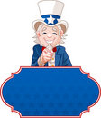 Uncle Sam Wants You! Royalty Free Stock Images