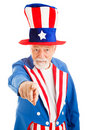 Uncle Sam Wants You Royalty Free Stock Photo