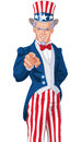 Uncle Sam Wants You! Royalty Free Stock Photo