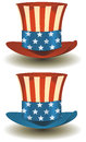 Uncle Sams Top Hat For American Holidays Royalty Free Stock Images