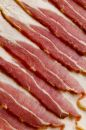 Uncooked Bacon Royalty Free Stock Photos