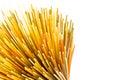 Uncooked pasta spaghetti macaroni, Royalty Free Stock Photo