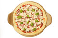 Uncooked Pizza Royalty Free Stock Photo