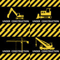 Under construction. Royalty Free Stock Image