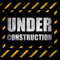 Under construction background Stock Photos