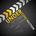 Under Construction Background Royalty Free Stock Images