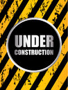 Under construction background Royalty Free Stock Image