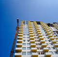 Under construction condo building. Stock Photography