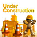 Under construction icon symbol Stock Photos