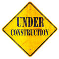 Title: Under construction sign
