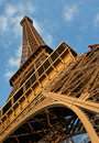 Under Eiffel Tower Royalty Free Stock Photo