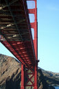 Under The Golden Gate Bridge Stock Photos