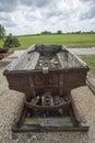 Under-ground coalmine car Royalty Free Stock Photo