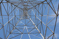 Under the Pylon. Royalty Free Stock Photo