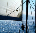 Under Sail Royalty Free Stock Photos