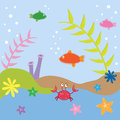 Under sea fish the ocean Royalty Free Stock Photography